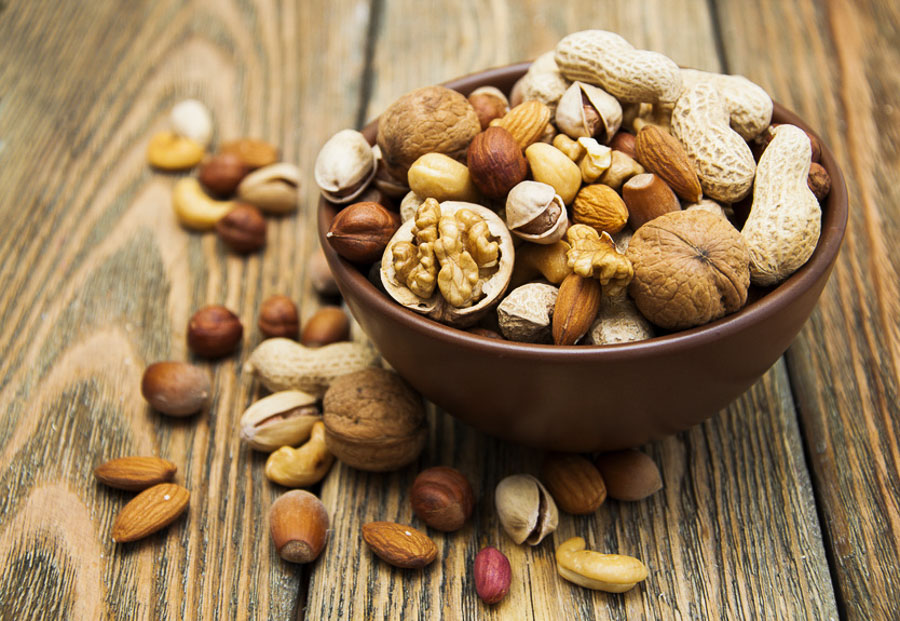 Are nuts a healthy option