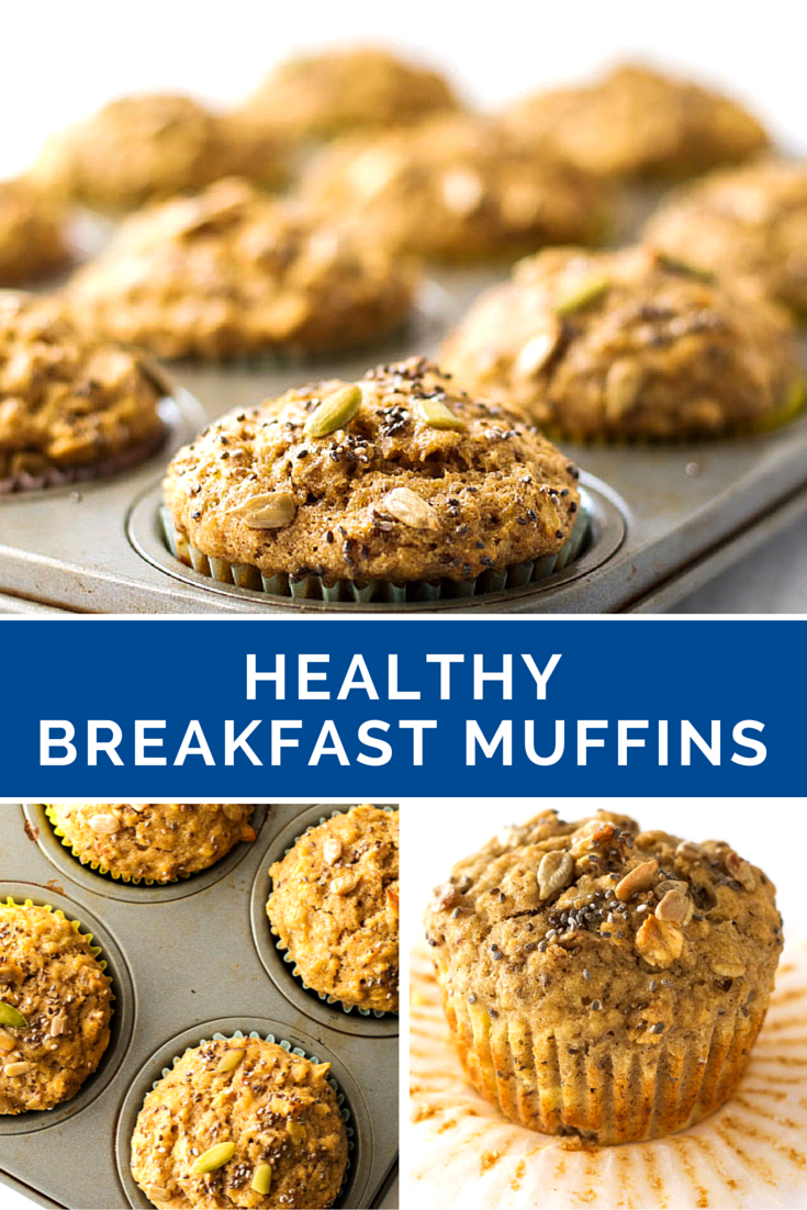 Healthy Breakfast Muffins