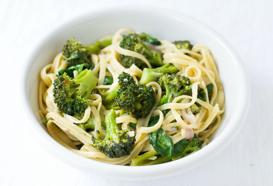 One Pot Broccoli Parmesan Pasta